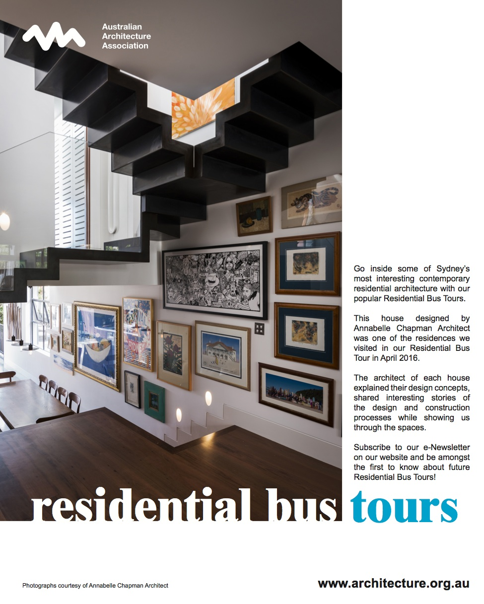 AAA Residential Tour Saturday 16 April - featuring Paddington House